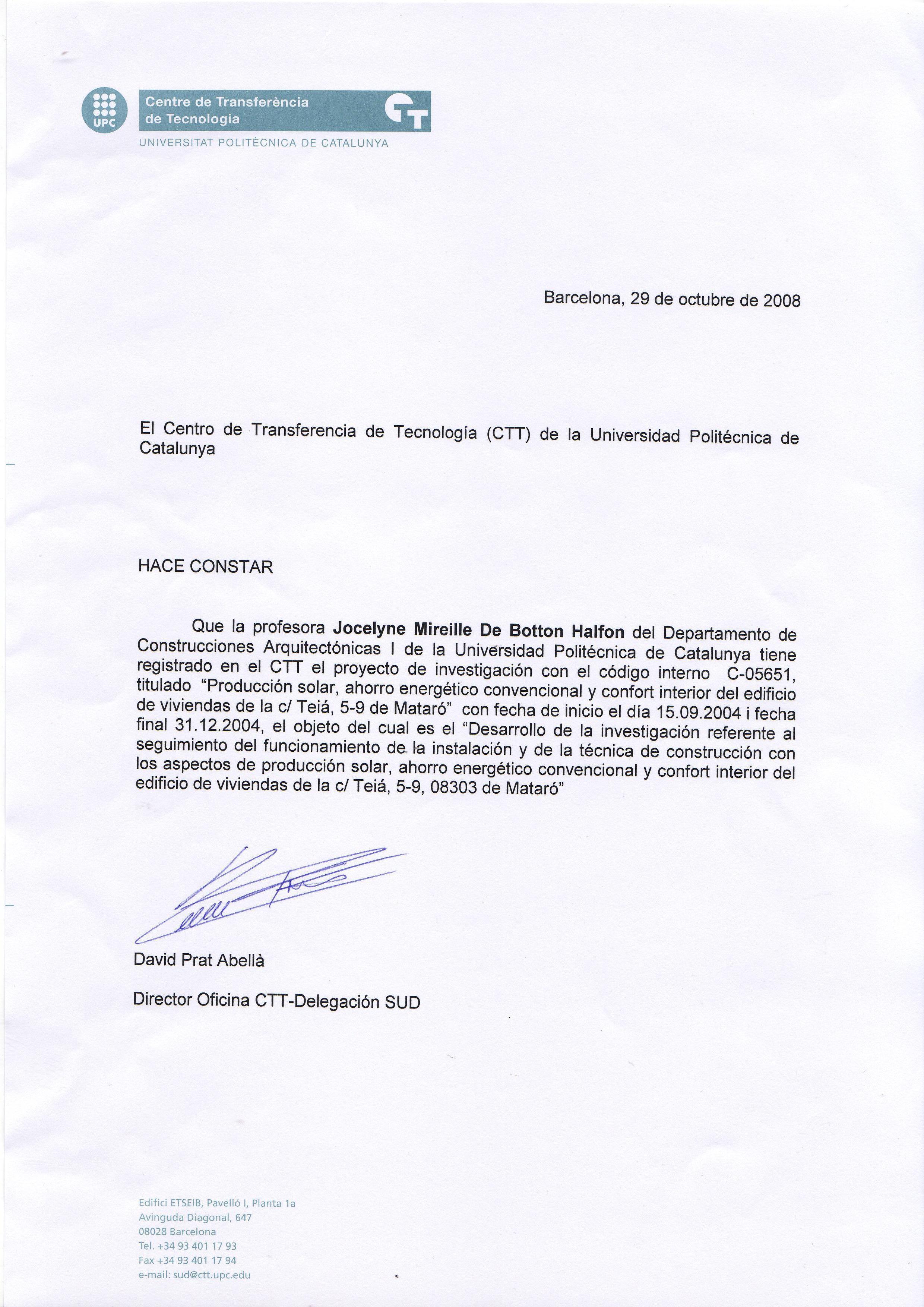 Hermosa Certificación De Arquitecto Composición - Certificado Actas ...